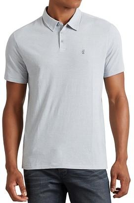 John Varvatos Star USA Striped Slim Fit Polo Shirt $98 thestylecure.com