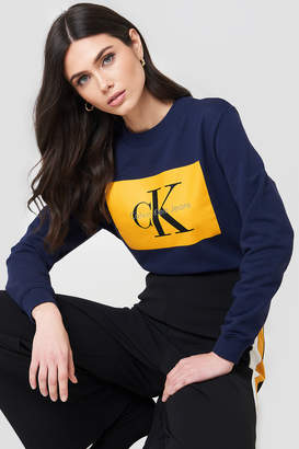 Calvin Klein Hebe True Icon Sweater Black/Bright White