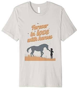 Forever In Love With Horses Shirt