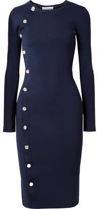 Altuzarra Arzel Stretch-knit Dress - Navy