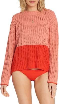 Billabong Block Party Colorblock Sweater
