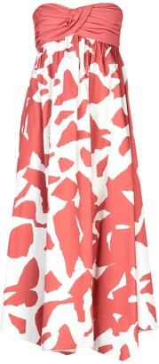 Jil Sander Navy 3/4 length dresses