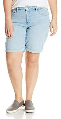 Levi's Women's Plus Size Shaping Bermuda Short