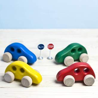 Natural Gift Store Handcrafted Mini Wooden Car