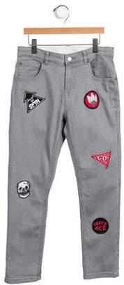Stella McCartney Boys' Lohan Appliqué Jeans w/ Tags