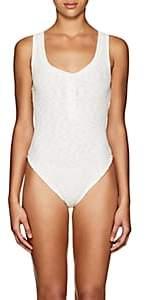 Onia Women's Jenny Ribbed Sleeveless Bodysuit - White