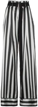 Ann Demeulemeester striped palazzo pants