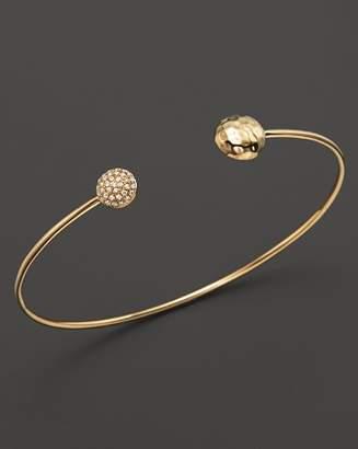 KC Designs Diamond Double Circle Bracelet in 14K Yellow Gold