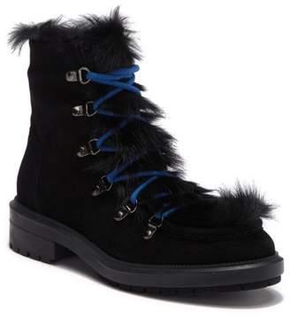 Aquatalia Leni Faux Fur & Genuine Shearling Lined Weatherproof Boot