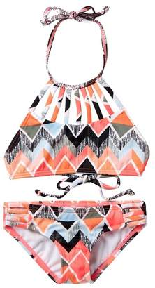 Billabong Zigginz Two-Piece Swimsuit (Little Girls & Big Girls)