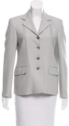 Salvatore Ferragamo Wool Notch-Lapel Jacket