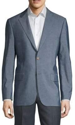 Hickey Freeman Milburn Cotton & Silk Jacket