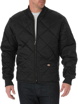 Dickies Big & Tall Men's Diamond Quilted Nylon Jacket