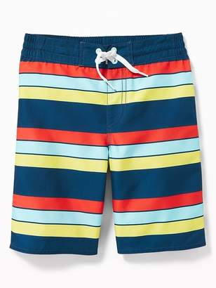 5896e627c6412 Old Navy Patterned Board Shorts for Boys