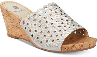 White Mountain Atlie Embellished Wedge Sandals, Women Shoes