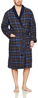 Original Penguin Men's Fleece Lined Robe