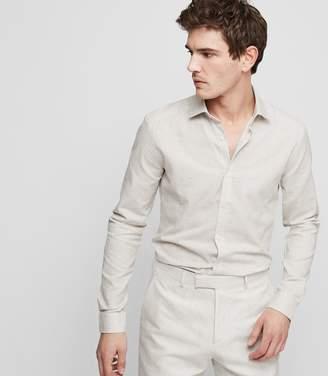 Reiss Cody Melange Weave Shirt
