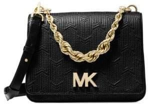 MICHAEL Michael Kors Mott Twisted-Chain Crossbody Bag