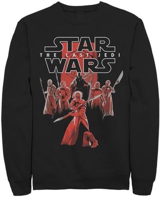 Star Wars Licensed Character Men's The Last Jedi Elite Praetorian Guards Fleece