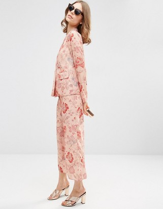 ASOS Floral Pajama Pants Co-ord $62 thestylecure.com