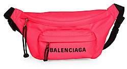 Balenciaga Women's Wheel Logo Belt Bag