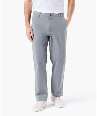 Dockers Downtime Khaki Mens Classic Fit Flat Front Pant