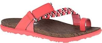 Merrell Women's Around Town Sunvue Thong Woven Sandal