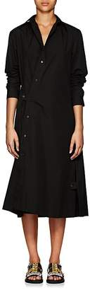 Yohji Yamamoto Regulation Women's Oversized Cotton Poplin Dress