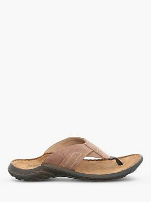 a7832ae65eb Josef Seibel Logan Leather Toe Post Sandals