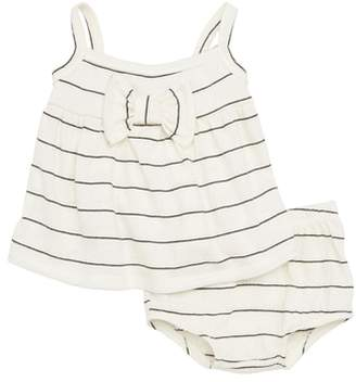 Joah Love Stripe Swing Top & Bloomers Set