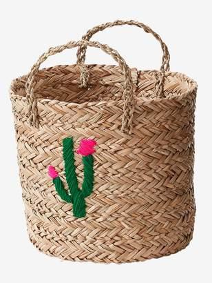 Vertbaudet Wicker Basket, Cactus