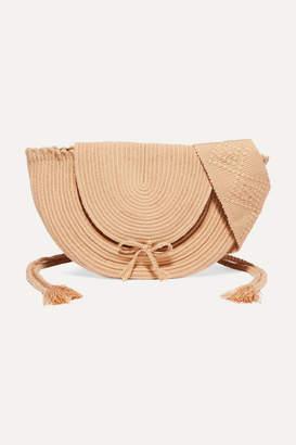 Sophie Anderson Jessie Woven Shoulder Bag - Beige