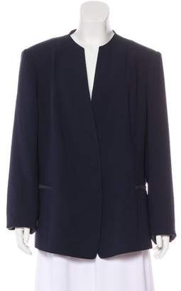 Lafayette 148 Collarless Structured Blazer