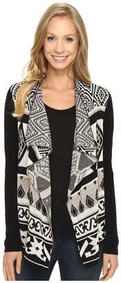 Lucky Brand Drape Cardigan Women's Sweater
