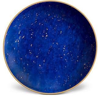L'OBJET Lapis-Look Limoges Porcelain & 24K Gold Dish