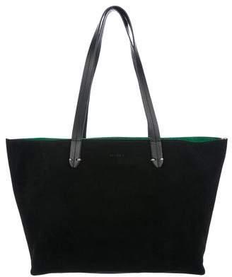 Clare Vivier Suede Tote Bag