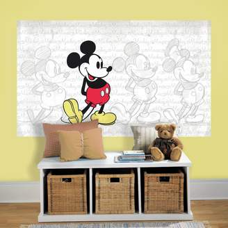 Mural Roommates Disney's Mickey Mouse Peel & Stick Wall Decal by RoomMates