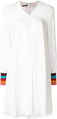 Paul Smith rainbow cuff shift dress
