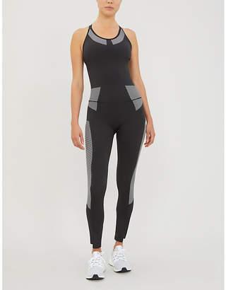 adidas Primeknit stretch-jersey body
