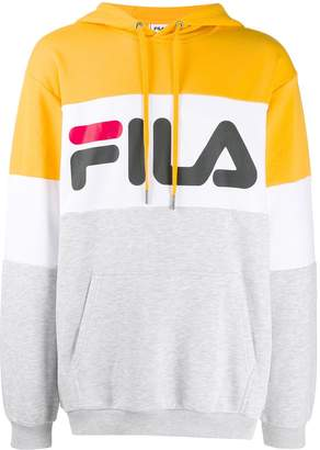 Fila Night colour-block hoodie
