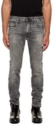 Mauro Grifoni Dark Gray Denim