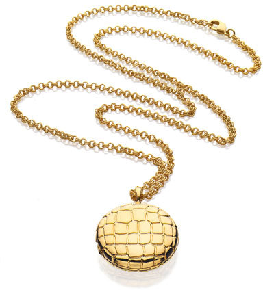 Estee Lauder Limited Edition Beautiful Golden Alligator Necklace