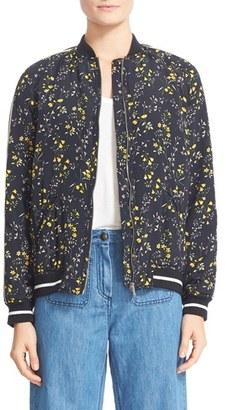 Women's Belstaff Hulton Floral Bomber Jacket $1,195 thestylecure.com