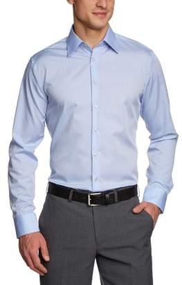 Seidensticker Men's Dress Shirt Formal Shirt Business Shirt Tailored Fit Long Sleeve Collar Kent Non-Iron