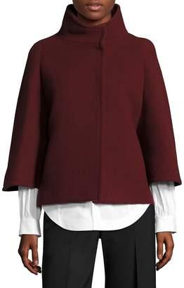 Aquilano Rimondi Women's Wool Cape Coat