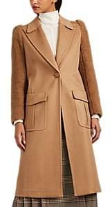 Fendi Women's Camel Hair Long Coat - Camel