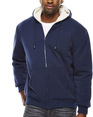 Asstd National Brand Sherpa-Lined Hoodie Jacket