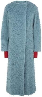 Roksanda Edine Textured Camel Coat