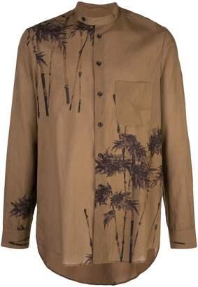 Uma Wang tree print shirt