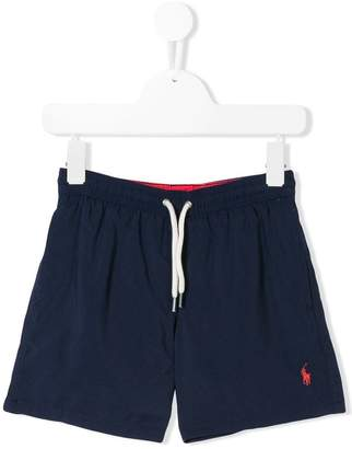 Ralph Lauren logo embroidered swim shorts